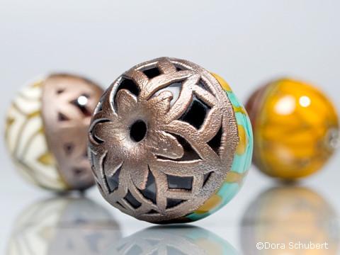 Focal Bead - Copper Electroforming