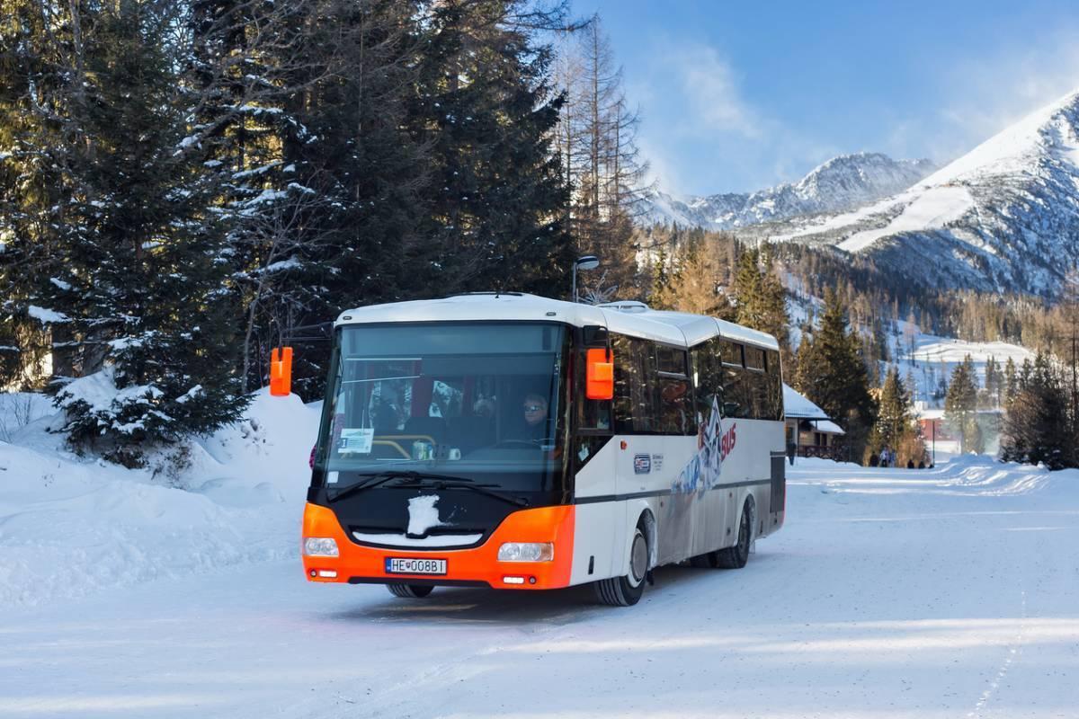 Les vacances au ski en bus vers Montgenèvre