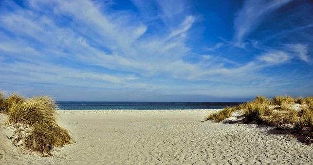Ferien an der Ostsee, Wasser, Meer