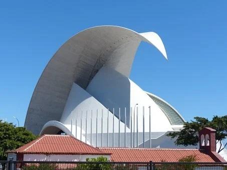 Auditorium Santa Cruz de Tenerife, Städte Teneriffa, wandern auf Teneriffa