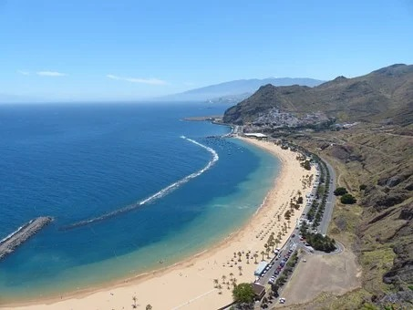Las Teresitas in Santa Cruz de Tenerife, Städte Teneriffa, Wandern auf Teneriffa