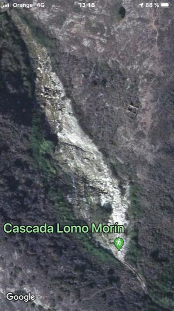Cascada de Lomo Morin oberhalb von Los Silos uaf Teneriffa