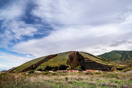 El Palmar, Tenogebirge, Teno Alto,  Casa Madera Wanderurlaub, Wandern