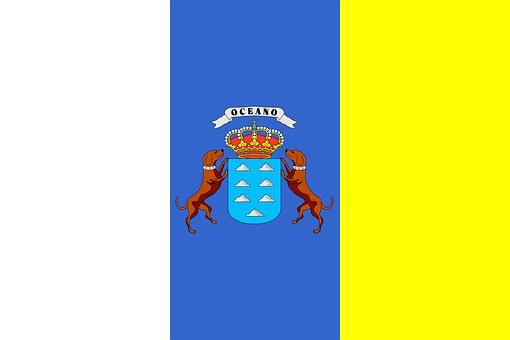 Kanarische Flagge, Venezuela und Teneriffa, Casa Madera