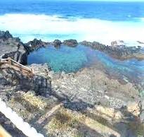 Naturschwimmbecken Charco los Chochos Los Silos, Casa Madera, Teneriffa