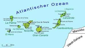 Die Kanarischen Inseln vor der Küste Nordafrikas, Casa madera