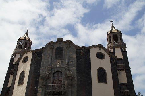Iglesia de Nuestra Senora de la Concepcion, La Orotava Teneriffa, Städte Teneriffa