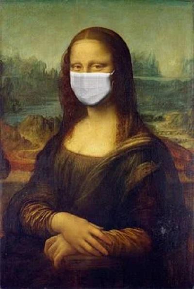 Mona Lisa und die Coronakrise