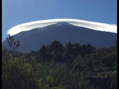 UFOs auf dem Teide