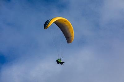 Gleitschirmfliegen im Teneriffa Urlaub