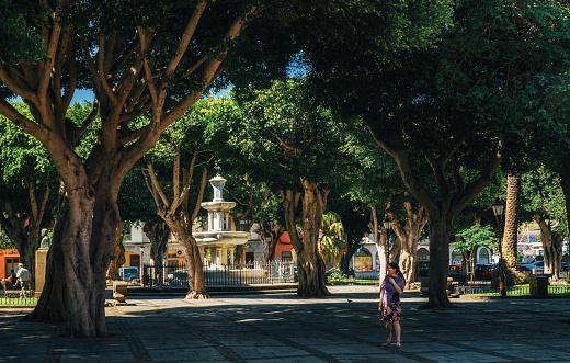 San Cristobal de La Laguna, Plaza de Adelantado La Laguna, Städte Teneriffa