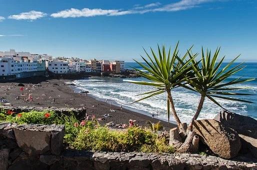 Strand Playa Punta Brava, Puerto de la Cruz, Norden Teneriffa