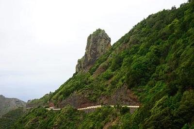 Küstenstraße im Anaga Gebirge