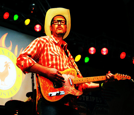 Dirk Kampa Texas Rooster Paisley Crook Custom