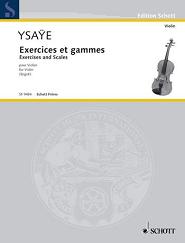 イザイ/練習曲と音階 YSAŸE Exercices et gammes ヴァイオリン教室 バイオリン レッスン