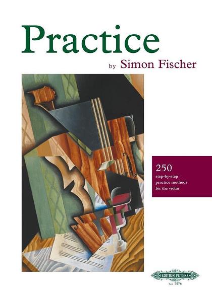 サイモン・フィッシャー ブラクティス Practice 250 step-by-step practice methods for the violin by Simon Fischer ヴァイオリン教室 バイオリン レッスン
