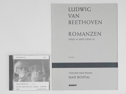 ベートーヴェン ロマンス マックス ロスタル 楽譜 CD ヴァイオリン教室 バイオリン レッスン