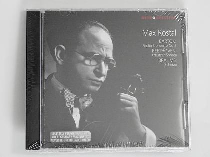 Mas Rostal BARTOK BEETHOVEN BRAHMS RETOROSPECTIVE 8400 ヴァイオリン教室 バイオリン レッスン