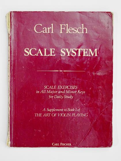 Carl Flesch SCALE SYSTEM ヴァイオリン教室 バイオリン レッスン
