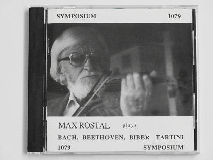 ベートーヴェン ロマンス マックス ロスタル CD ヴァイオリン教室 バイオリン レッスン