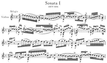 バッハ/無伴奏ヴァイオリンのためのソナタ&パルティータ ヴァイオリン教室 バイオリン レッスン