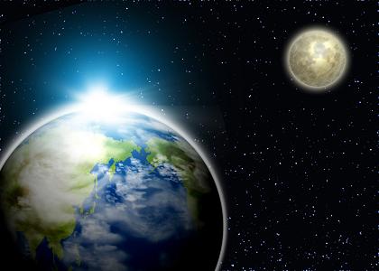 別世界 地球 月 ヴァイオリン教室 バイオリン レッスン