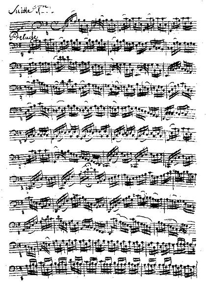 バッハ/無伴奏チェロ組曲 ヴァイオリン教室 バイオリン レッスン