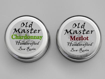 ヴァイオリン バイオリン 松脂 松ヤニ 最高 Old Master Chardonnay Rosin Old Master Merlot Rosin オールドマスター シャルドネ オールドマスター メルロー ヴァイオリン教室 レッスン