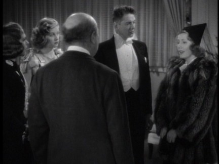 with Guy Kibbee, Alice Brady, Lucille Ball and Frank Milan