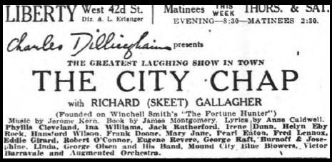 ad - New York Times, November 22, 1925