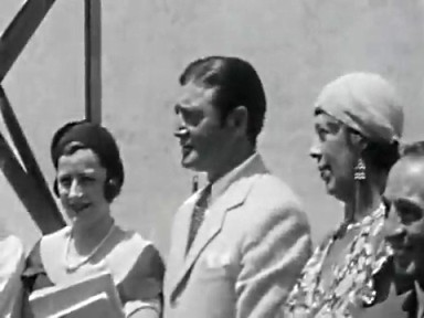 with Richard Dix and Edna May Olivier
