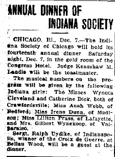 Logansport Pharos Reporter, Dec. 7 1918