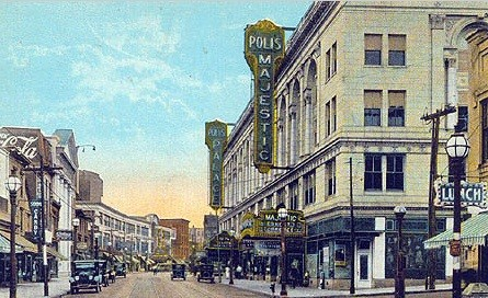 Poll's Majestic theatre in Bridgeport