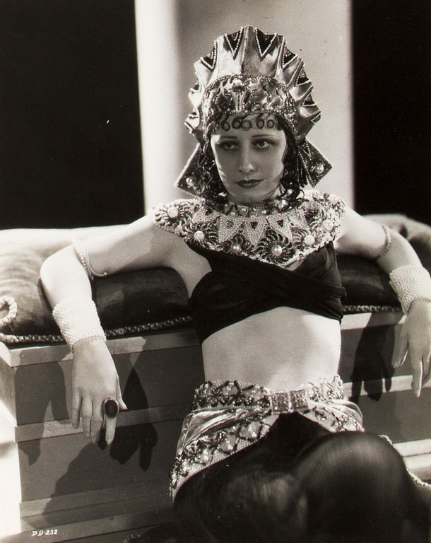"1930- publicity Irene as ""Cleopatra"" (Thanks to Janine)"