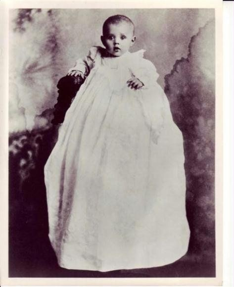 Baby Irene - first publicity shot