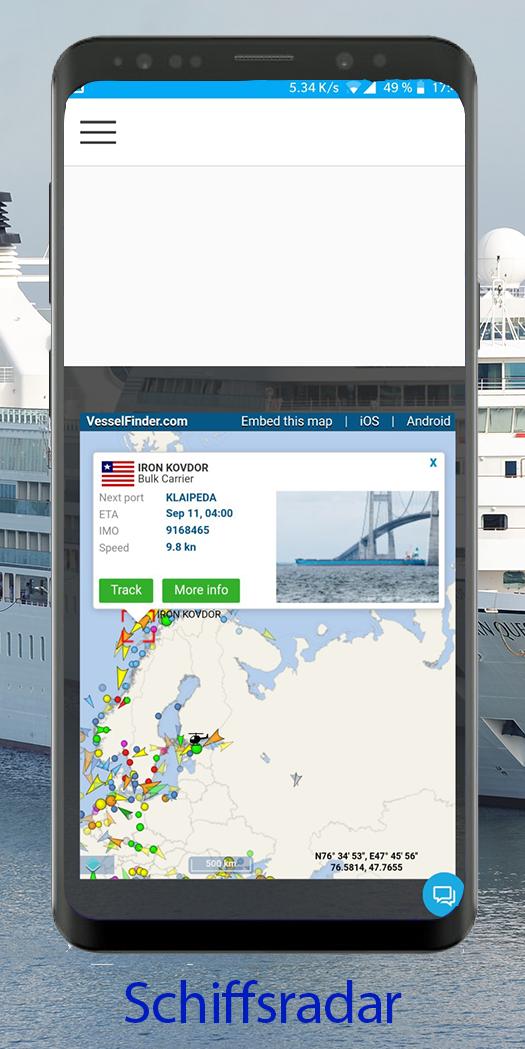 Schiffsradar App