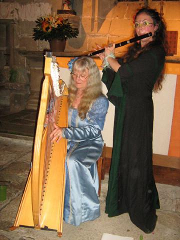 Concert à la chapellle St-Colomban à Carnac - Eté 2009