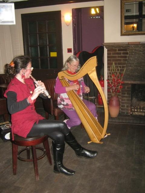 """Concert en pub - """"White Hart Hotel""""  Ampthill-Angleterre- Octobre 2010"""