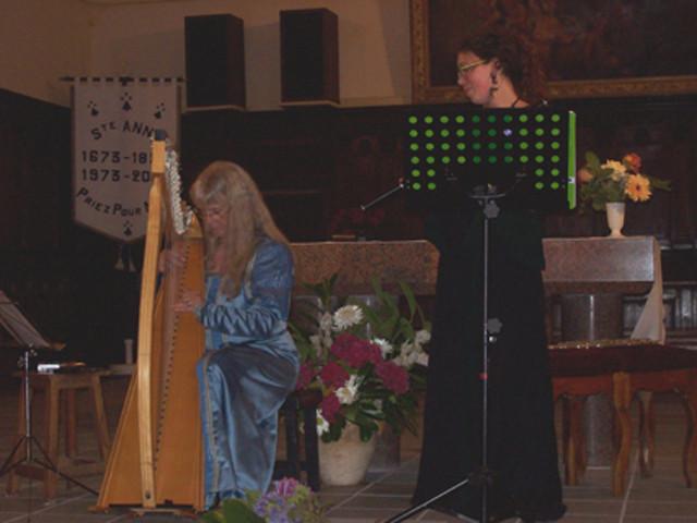 Concert à l'église d'Arzon - Eté 2009