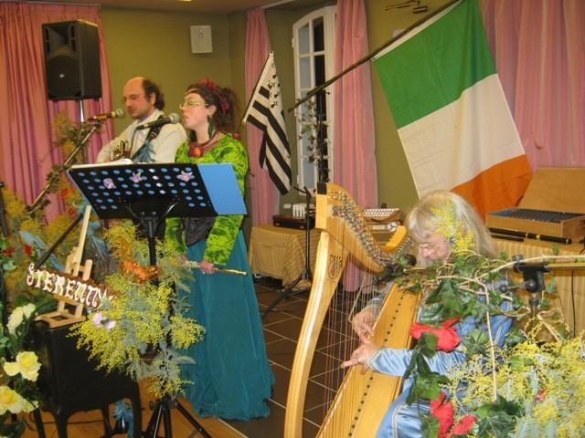 St Patrick à Coet Diquel - Bubry - Mars 2010