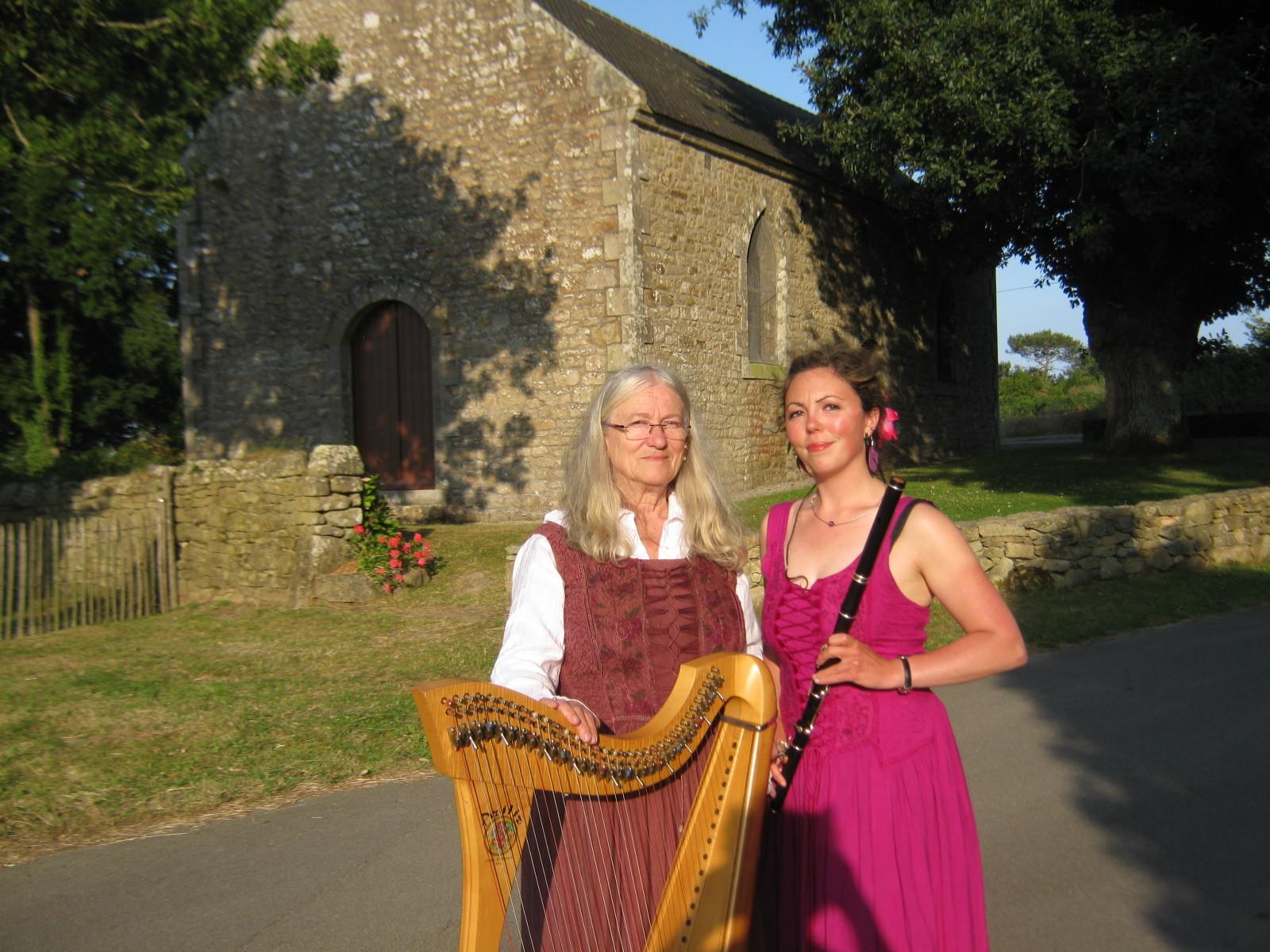 Concert à la chapelle du Moustoir - Locmariaquer - Eté 2013