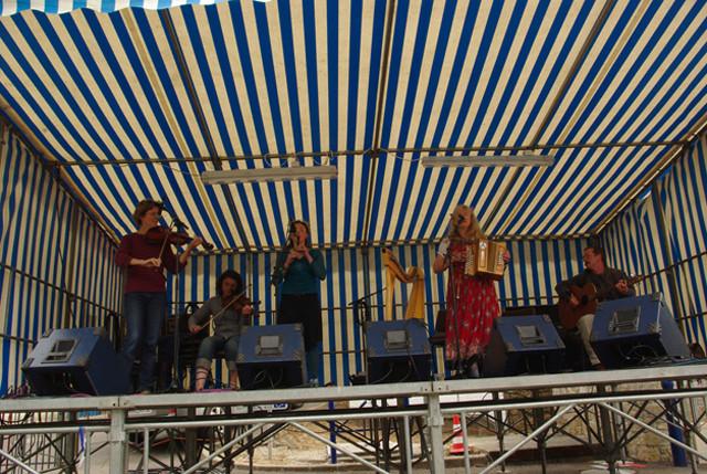 Concert pour les 10 ans du Folk Club du Bono - Juin 2009 - Port du Bono