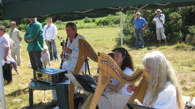 Concert gorsed digor druides - Arzano - Juillet 2010
