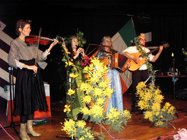 Animation, concert pour la Saint-Patrick - mars 2009 - Port Crouesty sur la Presqu'île de Rhuys