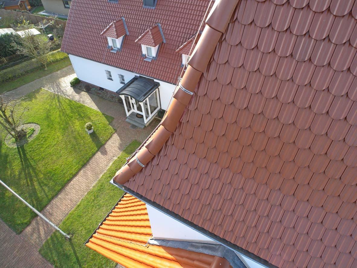 Luftbilder Bad Dobberan  Kontrolle Dach Mecklenburg-Vorpommern