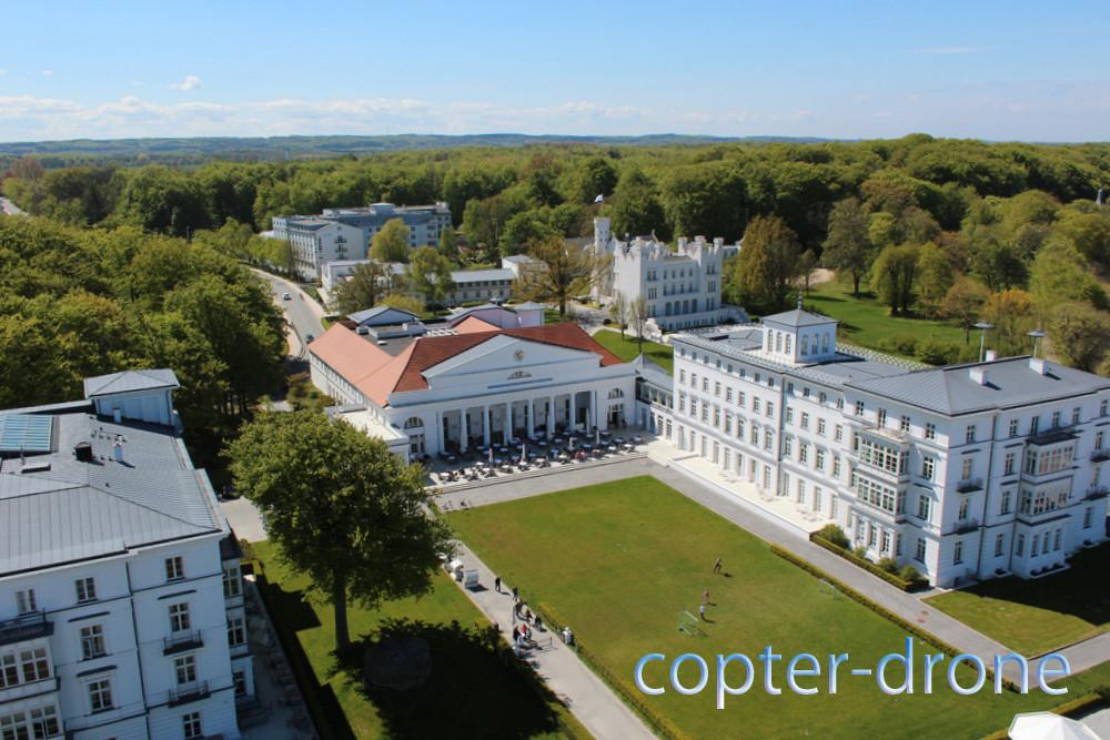 Luftaufnahmen Luxushotel Mecklenburg-Vorpommern