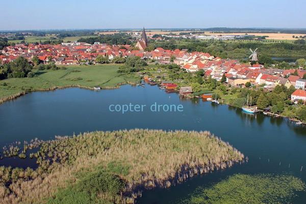 Luftaufnahmen Müritz Röbel Mecklenburg-Vorpommern