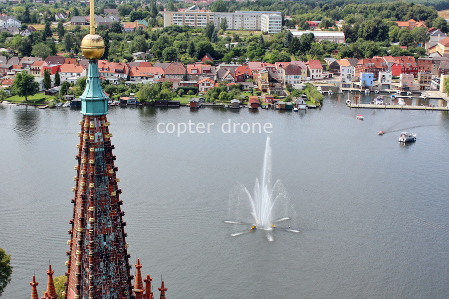Luftaufnahmen Malchow Schwerin Mecklenburg-Vorpommern