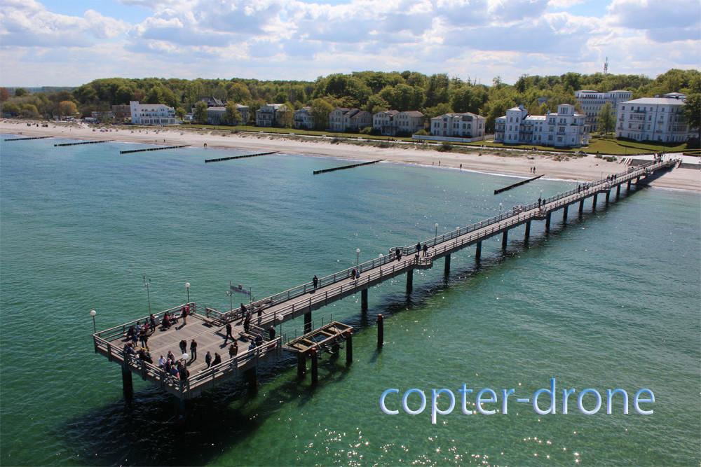 Luftaufnahmen Ostsee Seebrücke Mecklenburg-Vorpommern