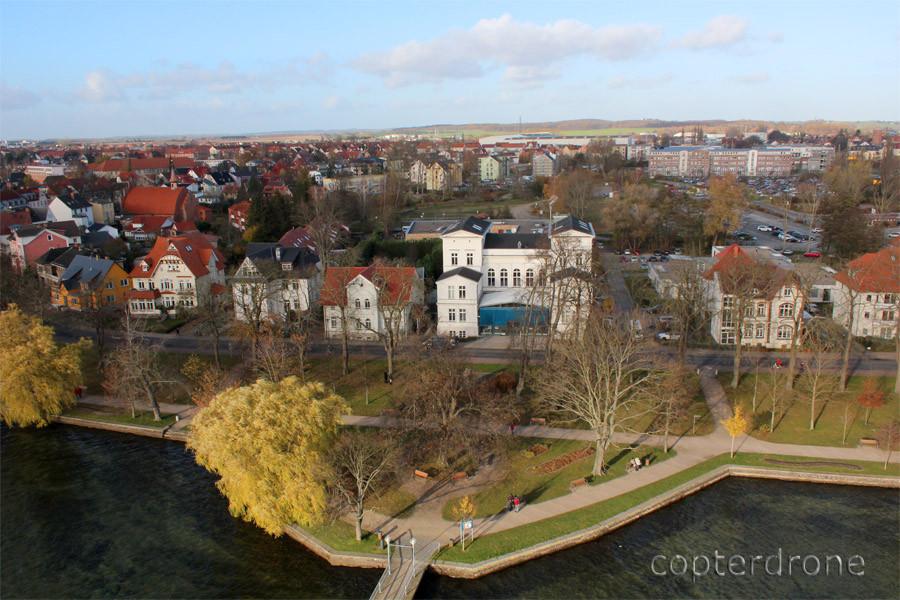 Luftaufnahmen Raiba Müritz Waren Kietz Mecklenburg-Vorpommern